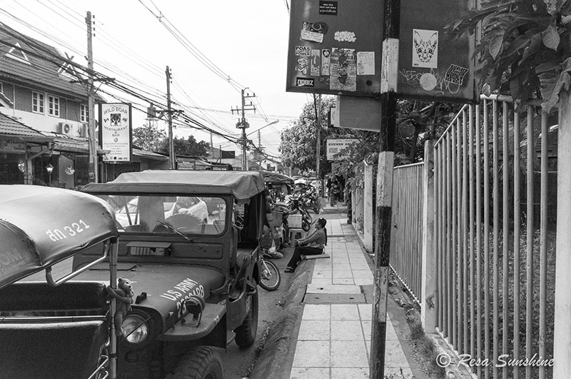 Chiang Mai US Army truck