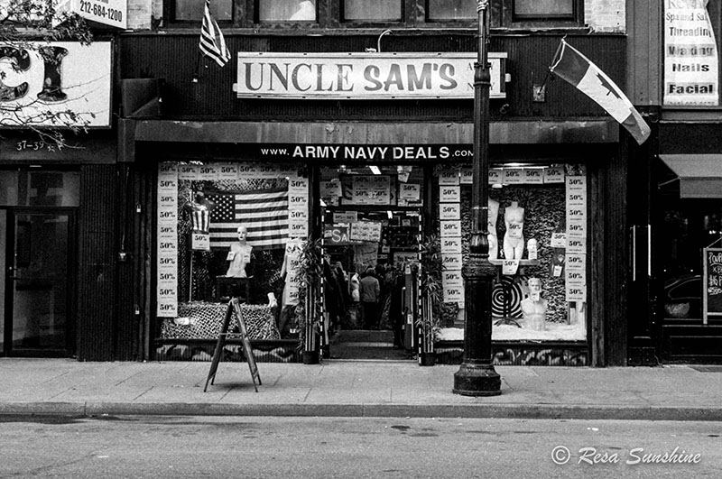 Uncle Sam's Army Navy Store